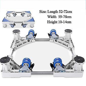 Washing Machine Stand -universal Mobile Base Multi-functional- Adjustable