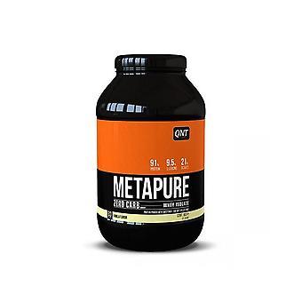 QNT Metpaure Zero Carb Fat Free Whey Protein Isolate Powder (Vanilla) 908g