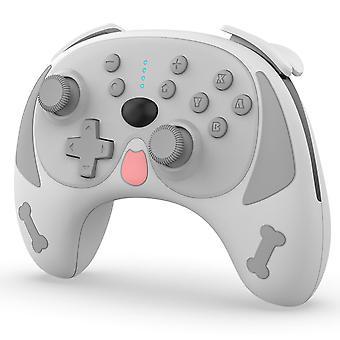 בקר אלחוטי כרונוס למתג, מתג בקר Pro ג'ויסטיק ג'ויסטיק Animal Crossing Controller (אפור)