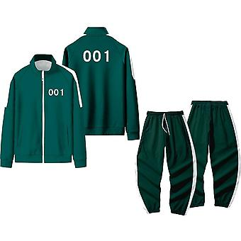 Squid Game Cosplay Costumes Jacket Pants Suit Halloween Role Play