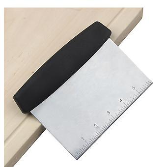 Deigskraper rustfritt stål deigkutter med presise vekter