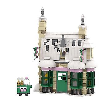 Venalisa Girl Princess Candy Shop House Bloc de construction modulaire