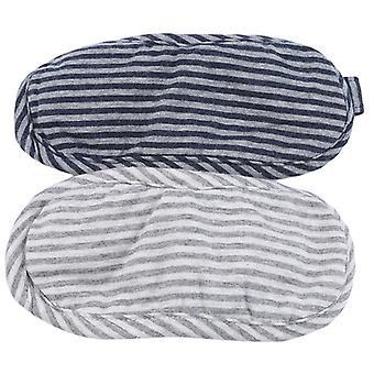 Utile Portable Voyage Compact Oreiller Masque des Yeux 2 En 1 - Lunettes Souples Cou Repos Oreiller
