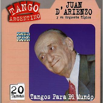 Juan D'Arienzo - Tangos Para El Mundo [CD] USA import