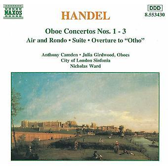 G.F. Handel - Handel: Importazione concerti per Oboe [CD] Stati Uniti d'America