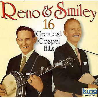 Reno & Smiley - 16 Greatest Gospel Hits [CD] USA import