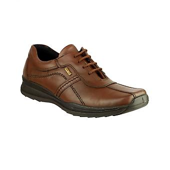 Cotswold Mens Cam Lace Up Shoe Brown