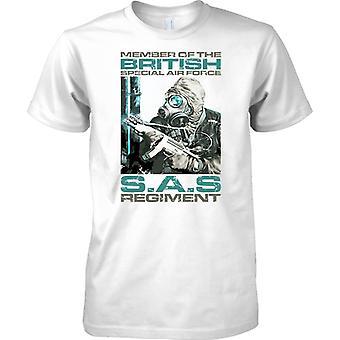 Miembros del regimiento SAS británico - para hombre T Shirt
