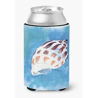 Carolines Treasures  8010CC Shells Can or Bottle Beverage Insulator Hugger