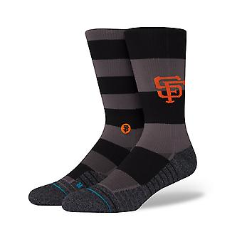 Stance Giants Nightshade Crew Socks in Black