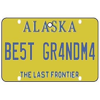 Alaska - mejor abuela licencia placa ambientador
