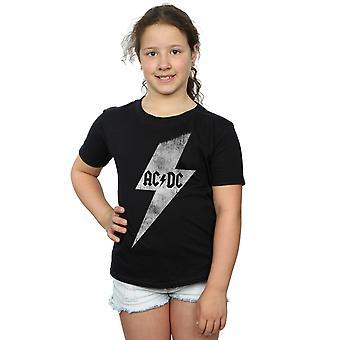 AC/DC flickor Lightning Bolt T-Shirt