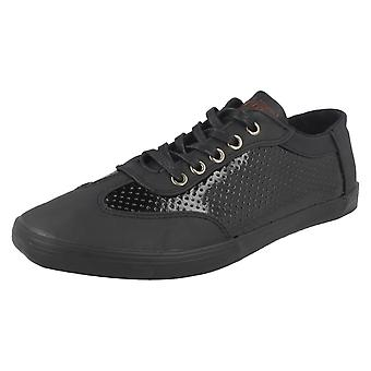 Mens Twisted Faith Casual Pumps 'P77'