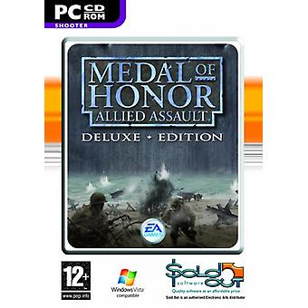 Medal of Honor Allied Assault-Deluxe Edition (PC CD)-ny