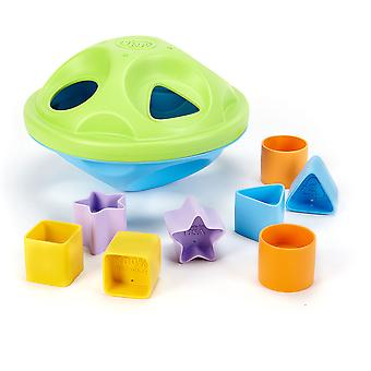 Green Toys BPA Free My First Shape Sorter Educational 100% Recycled Eco