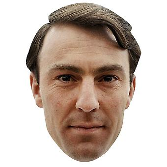 Maschera di giovane Jimmy Greaves