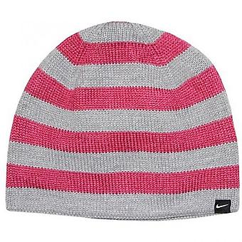 Nike Women's Stripe Reversible Beanie Hat 442112-660