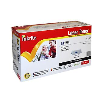 Inkrite Laser Toner Cartridge compatibel met broer TN2120 Black