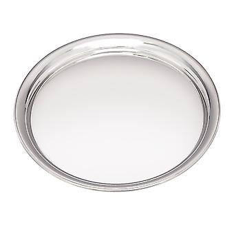 Medium 240Mm Round Pewter Tray