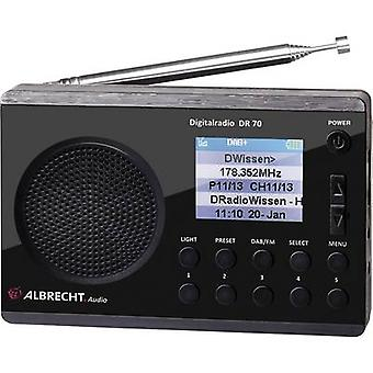 Albrecht DR 70 DAB+ Torch Black