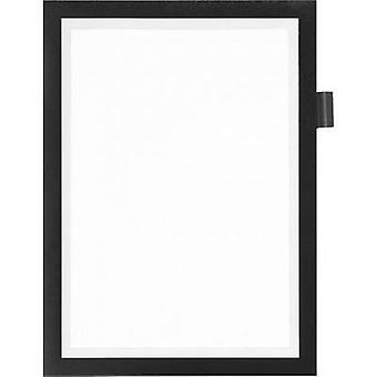 Durable 499301 DURAFRAME NOTE A4 - 4993 Ad frame (self-adhesive) A4 Black (W x H) 238 mm x 324 mm 1 pc(s)