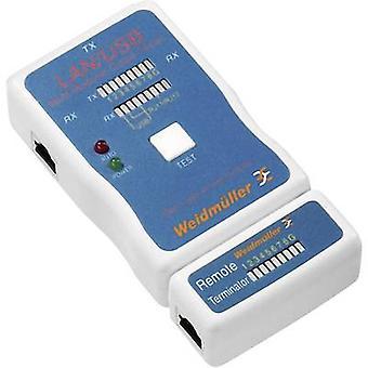 Weidmüller LAN USB TESTER مناسبة للشبكة المحلية، USB