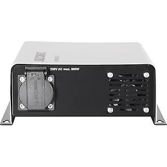 VOLTCRAFT invertteri SWD-600/24 600 W 24 V DC-230 V AC-kaukosäädin