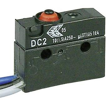 ZF Microswitch DC2C-C3AA 250 V AC 10 A 1 x On/(On) IP67 momentary 1 pc(s)