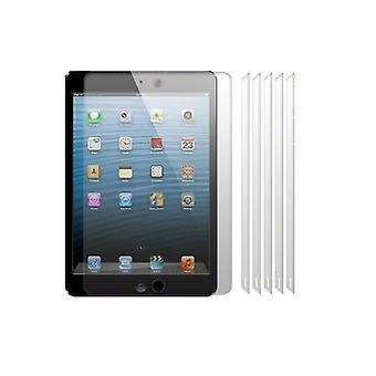 6 X Ipad Mini Transparent Screen Protector/film/foil (3 Layer Technology) & Microfibre Cloth