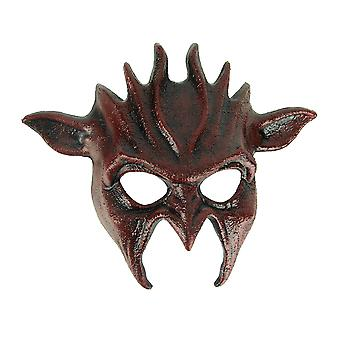 Blood Red Adult Wicked Goblin Halloween Costume Mask