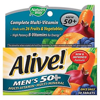 Nature's Way, Alive! Mens 50+ One a Day, 30 tablets