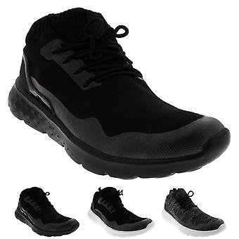 Mens Lightweight Fitness Cushioned Running Walking Sock Gym Trainers UK 3-10