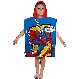 Spiderman Spider-Man Badponcho serviette de bain Poncho 115 55cm