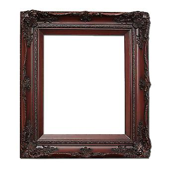 25x30 سم أو 10x12 بوصة، إطار الصورة باللون الأحمر