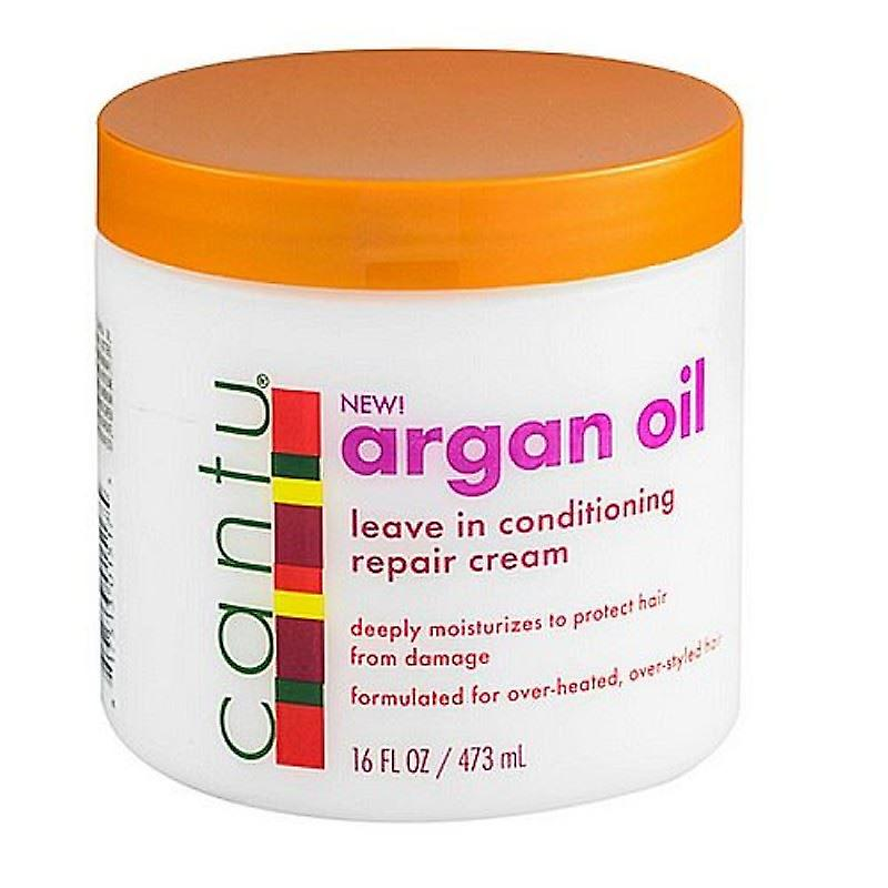 Cantu Shea Butter Argan Oil Leave-In Cond. Repair Cream 453ml