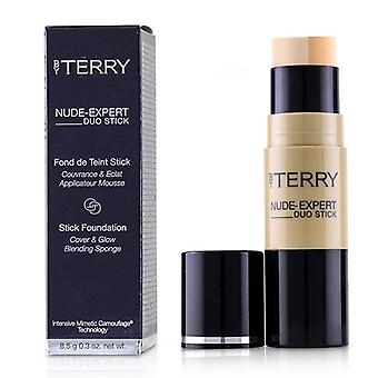 By Terry Nude Expert Duo Stick Foundation - # 4 Rosy Beige - 8.5g/0.3oz