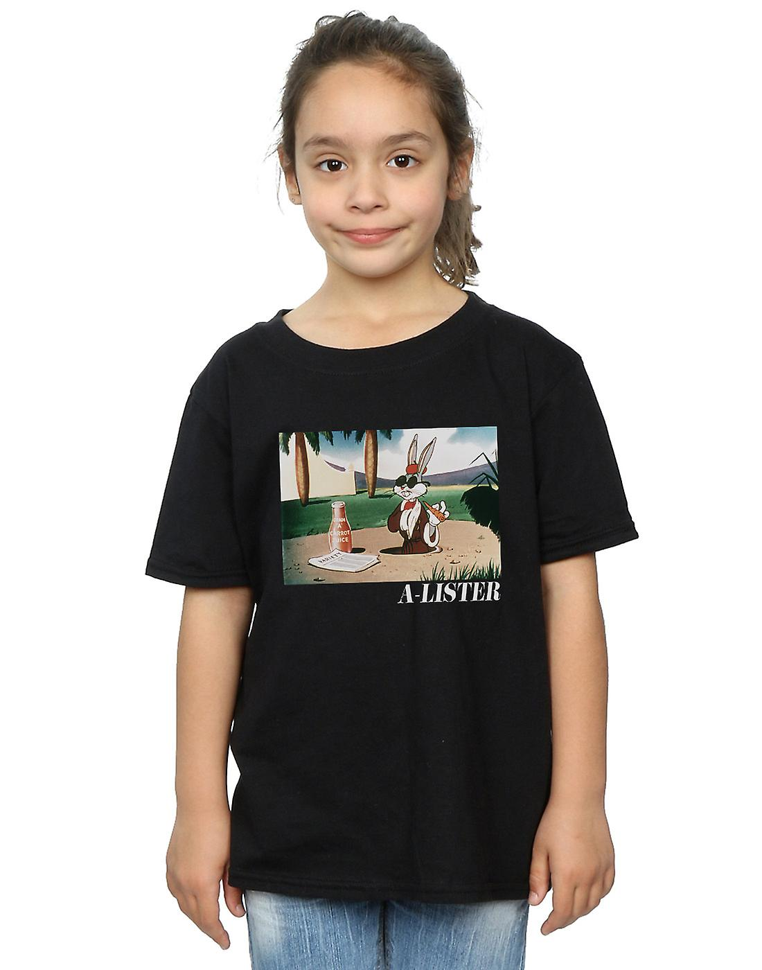 Looney Tunes Girls Bugs Bunny A-Lister T-Shirt