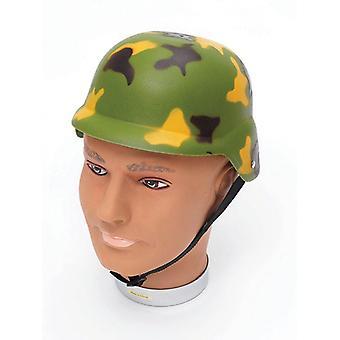 Camoflage Helmet.