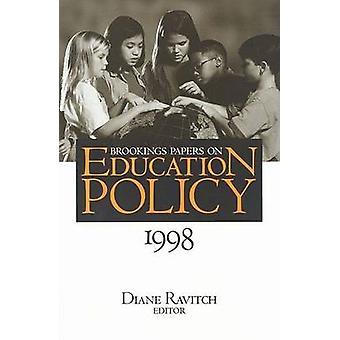 Papeles de Brookings en política educativa - 1998-1998 por Diane Ravitch - 9