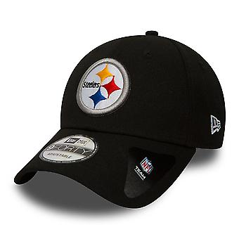 New Era 9Forty Adjustable Curve Cap ~ Pittsburgh Steelers
