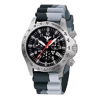 KHS watches mens watch platoon chronograph LDR KHS. PCLDR. DC1