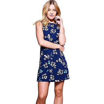 Style London Zip Pocket Detail Floral Skater Dress