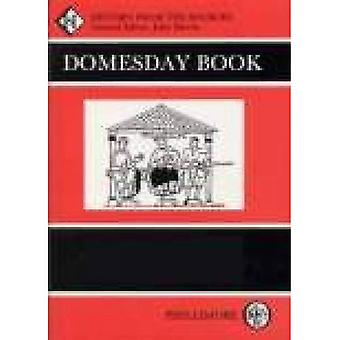 The Domesday Book: Cheshire (Domesday Books (Phillimore))