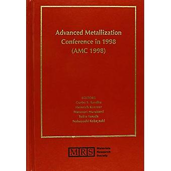 Advanced Metallization Conference in 1998 Proceedings of the Conference Held October 6-8, 19...