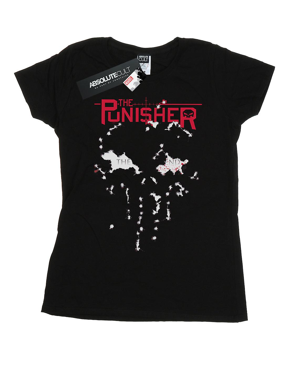 Marvel Women's The Punisher The End T-Shirt