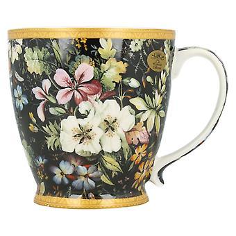 Lesser & Pavey Floral Design Fine China Mug LP92830