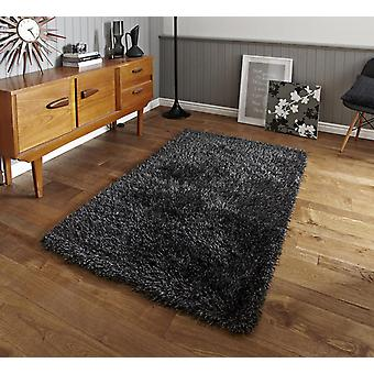 Monte Carlo Grey  Rectangle Rugs Plain/Nearly Plain Rugs
