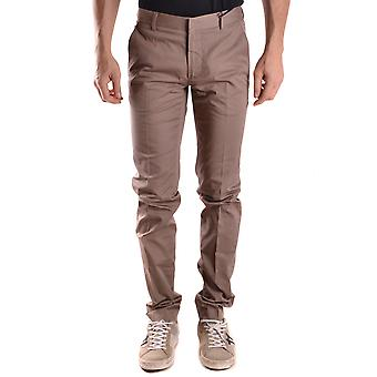 Daniele Alessandrini Ezbc107187 Men's Beige Cotton Pants