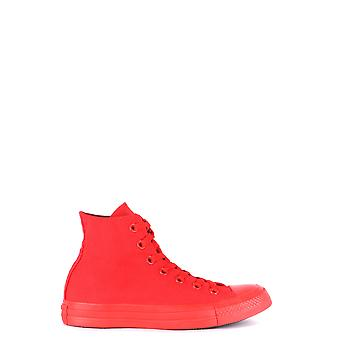 Converse Ezbc119020 Women's Red Fabric Hi Top Sneakers