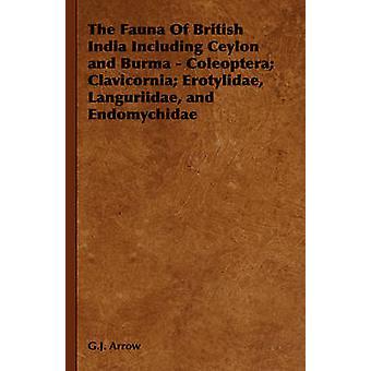 The Fauna of British India Including Ceylon and Burma  Coleoptera Clavicornia Erotylidae Languriidae and Endomychidae by G. J. Arrow & Arrow